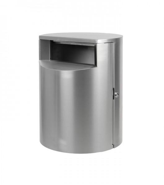 Abfallbehälter Lintrup - Edelstahl