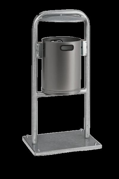 Abfallbehälter AG 06 - Edelstahl