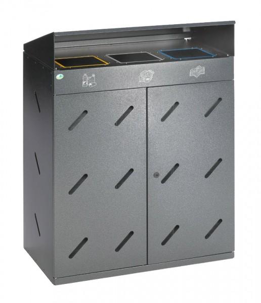 Wertstoffsammler WS 300 - 3 x 100 Liter
