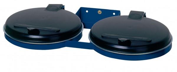 Doppel-Abfallsammler - für 120 Liter Abfallsäcke - zur Wandbefestigung