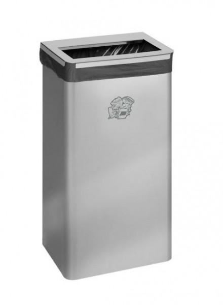 Abfallbehälter B 31 - Inh. 40 Liter - Edelstahl