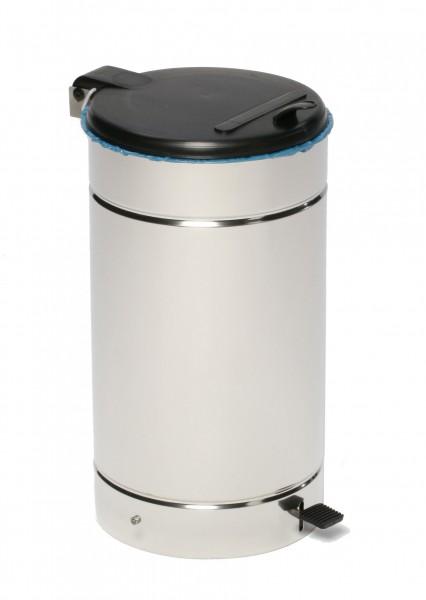 Abfallsammler EURO-Pedal - Inh. 60 Liter - Edelstahl