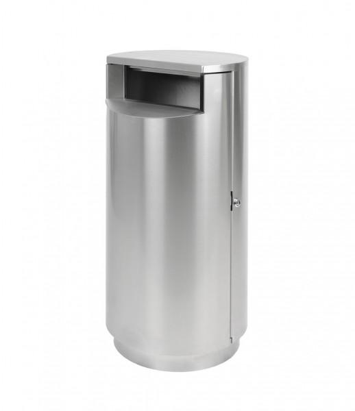 Abfallbehälter Lintrup III - Edelstahl