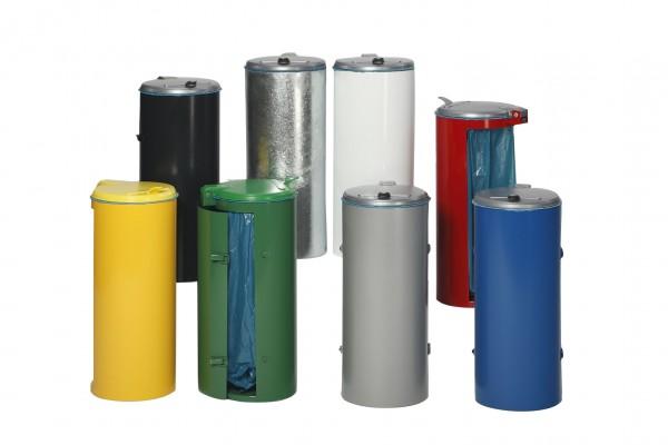 Abfallbehälter Kompakt-Junior mit Einflügeltür