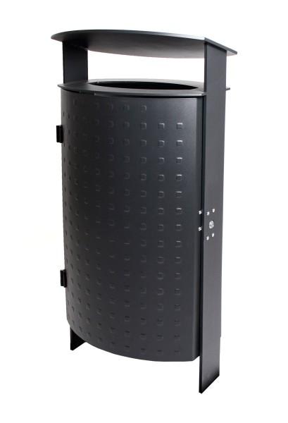 Abfallbehälter Java - Noppenblech